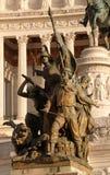 Μνημείο στους αρχαίους μαχητές, drlla Patria, Ρώμη Altare Στοκ Εικόνες
