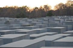 Μνημείο στους δολοφονημένους Εβραίους της Ευρώπης - ολοκαύτωμα αναμνηστικό Βερολίνο στοκ φωτογραφία με δικαίωμα ελεύθερης χρήσης
