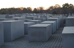 Μνημείο στους δολοφονημένους Εβραίους της Ευρώπης - ολοκαύτωμα αναμνηστικό Βερολίνο στοκ εικόνα με δικαίωμα ελεύθερης χρήσης