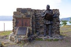 Μνημείο στους εναέριους εξερευνητές στην Παταγωνία, Αργεντινή Στοκ φωτογραφία με δικαίωμα ελεύθερης χρήσης
