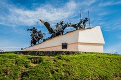 Μνημείο στους ιδρυτές της πόλης, Manizales Στοκ φωτογραφία με δικαίωμα ελεύθερης χρήσης