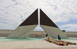 Μνημείο στους μαχητές στο εξωτερικό στη Λισσαβώνα, Πορτογαλία Στοκ Φωτογραφίες