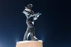 Μνημείο στους ναυτικούς σε Severomorsk Στοκ Εικόνα