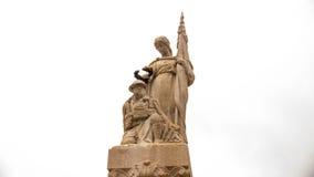 Μνημείο στους νεκρούς του μεγάλου πολέμου Στοκ Εικόνες