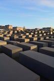 Μνημείο στους δολοφονημένους Εβραίους της Ευρώπης (ολοκαύτωμα) στο Βερολίνο Στοκ Φωτογραφίες