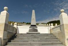 Μνημείο στους τουρκικούς στρατιώτες που πέθαναν στον πρώτο παγκόσμιο πόλεμο επάνω Στοκ Φωτογραφία