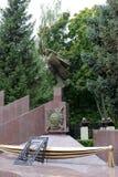 Μνημείο στους υπαλλήλους του Υπουργείου Εσωτερικών της περιοχής Lipetsk, η οποία πέθανε στη γραμμή καθήκοντος Στοκ Εικόνες