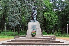 Μνημείο στο ήρωα πρωτοπόρων της Σοβιετικής Ένωσης Marat Kazei Στοκ φωτογραφίες με δικαίωμα ελεύθερης χρήσης