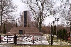 Μνημείο στο ήρωα της Σοβιετικής Ένωσης Polyakov Pavel Yakovlevich στοκ φωτογραφία με δικαίωμα ελεύθερης χρήσης