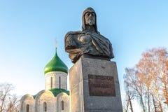 Μνημείο στο Αλέξανδρο Nevsky Στοκ φωτογραφία με δικαίωμα ελεύθερης χρήσης