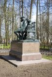 Μνημείο στο Α S Pushkin σε Tsarskoe Selo Στοκ εικόνες με δικαίωμα ελεύθερης χρήσης