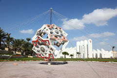 Μνημείο στο βασίλειο του Μπαχρέιν στοκ εικόνα