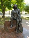 μνημείο στο Βλαντιμίρ Mulyavin στο Μινσκ στοκ φωτογραφία με δικαίωμα ελεύθερης χρήσης