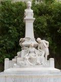 Μνημείο στο διάσημο costumbrist η νέα Μαρία που γράφεται από το Jorge Jorge Isaacs στοκ εικόνα