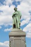 Μνημείο στο διάσημο ρωσικό ποιητή Αλέξανδρος Pushkin από το 1880 Στοκ φωτογραφία με δικαίωμα ελεύθερης χρήσης