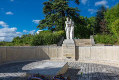 Μνημείο στο κονιάκ στοκ εικόνα με δικαίωμα ελεύθερης χρήσης