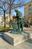 Μνημείο στο Μέγας Πέτρο που ονομάζεται τον ξυλουργό βασιλιάδων σε Άγιο Πετρούπολη, Ρωσία Στοκ εικόνες με δικαίωμα ελεύθερης χρήσης