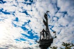 Μνημείο στο Μέγας Πέτρο Στοκ φωτογραφίες με δικαίωμα ελεύθερης χρήσης
