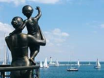 Μνημείο στο ναυτικό συζύγων στοκ φωτογραφία