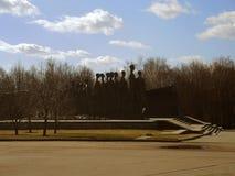 Μνημείο στο ολοκαύτωμα στη Μόσχα στοκ φωτογραφίες με δικαίωμα ελεύθερης χρήσης