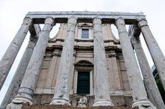 Μνημείο στο ρωμαϊκό φόρουμ, ιδίως Στοκ εικόνα με δικαίωμα ελεύθερης χρήσης