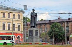 Μνημείο στο ρωσικό πρίγκηπα Yaroslav σοφό σε Yaroslavl, Ρωσία Στοκ φωτογραφία με δικαίωμα ελεύθερης χρήσης