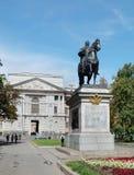 Μνημείο στο ρωσικό τσάρο Μέγας Πέτρος, Αγία Πετρούπολη Στοκ Φωτογραφίες