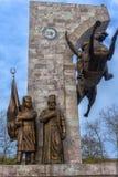 Μνημείο στο σουλτάνο Mehmed ΙΙ στο πάρκο πίστης στη Ιστανμπούλ, Τουρκία Στοκ εικόνες με δικαίωμα ελεύθερης χρήσης