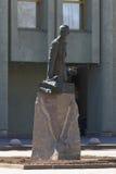 Μνημείο στο στρατηγό Alexei Brusilov στην Άγιος-Πετρούπολη Στοκ εικόνες με δικαίωμα ελεύθερης χρήσης