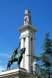 Μνημείο στο σύνταγμα του Καντίζ Στοκ εικόνες με δικαίωμα ελεύθερης χρήσης