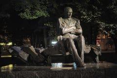 Μνημείο στο Anton Hansen Tammsaare Στοκ Εικόνα