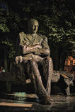 Μνημείο στο Anton Hansen Tammsaare Στοκ Εικόνες