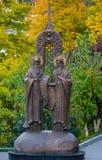 Μνημείο στο Antony και Theodosius σε Κίεβο-Pechersk Lavra Στοκ φωτογραφία με δικαίωμα ελεύθερης χρήσης