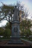 Μνημείο στο Felix Edmundovich Dzerzhinsky στη Μόσχα Στοκ φωτογραφία με δικαίωμα ελεύθερης χρήσης