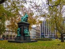 Μνημείο στο Ferenc Deak Στοκ Εικόνες