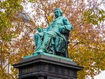 Μνημείο στο Ferenc Deak Στοκ Φωτογραφίες