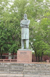Μνημείο στο Friedrich Engels στο πάρκο στοκ εικόνα