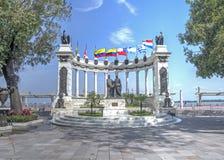 Μνημείο στο Guayaquil Στοκ φωτογραφία με δικαίωμα ελεύθερης χρήσης