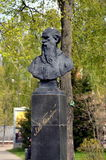 Μνημείο στο Leo Tolstoy στοκ εικόνα