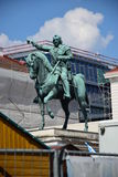 Μνημείο στο Maximilian, ψηφοφόρος πριγκήπων της Βαυαρίας, στο Μόναχο, Γερμανία Στοκ Εικόνα