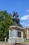 Μνημείο στο Peter Ι, Άγιος Πετρούπολη, Ρωσία Στοκ Φωτογραφία