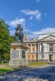 Μνημείο στο Peter Ι, Άγιος Πετρούπολη, Ρωσία Στοκ Εικόνες