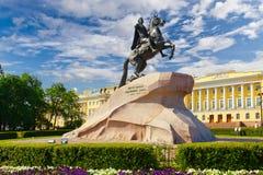 Μνημείο στο Peter Ι. Στοκ Εικόνες