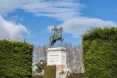 Μνημείο στο Philip IV στη Μαδρίτη, Ισπανία Στοκ φωτογραφίες με δικαίωμα ελεύθερης χρήσης