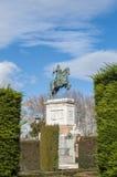 Μνημείο στο Philip IV στη Μαδρίτη, Ισπανία Στοκ Εικόνες