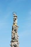 Μνημείο στυλοβατών πανούκλας σε Kosice στοκ φωτογραφία
