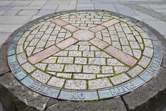 Μνημείο συμβαλλομένων στο Εδιμβούργο Στοκ Φωτογραφίες