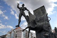 Μνημείο ταυρομάχου Plaza de Toros στη Μαδρίτη Στοκ φωτογραφίες με δικαίωμα ελεύθερης χρήσης