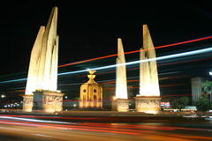 μνημείο Ταϊλάνδη δημοκρατίας της Μπανγκόκ Στοκ φωτογραφίες με δικαίωμα ελεύθερης χρήσης