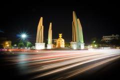 μνημείο Ταϊλάνδη δημοκρατίας της Μπανγκόκ Στοκ Φωτογραφίες